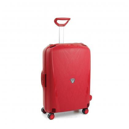 Roncato Light Piros Közepes Bőrönd