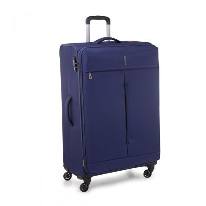 Roncato R-5121 Ironik L kék Unisex Puhafedeles bőrönd
