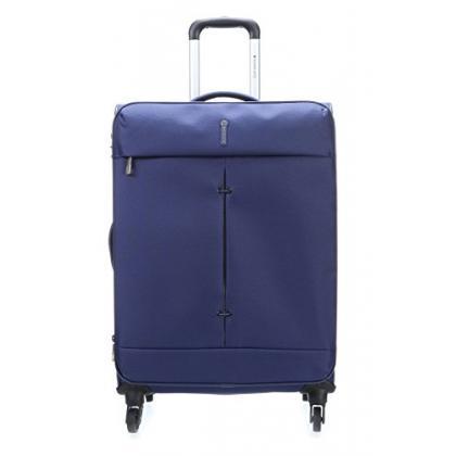 Roncato R-5122 Ironik kék Unisex Puhafedeles bőrönd