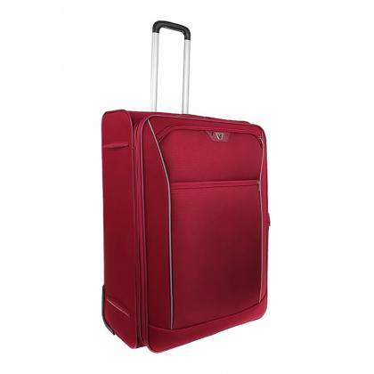 Roncato Ready Piros Unisex Puhafedeles bőrönd