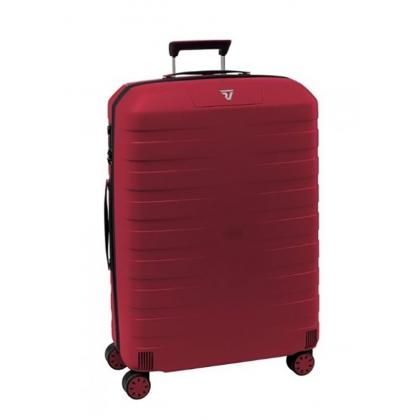 Roncato Box M Bordó Unisex Bőrönd