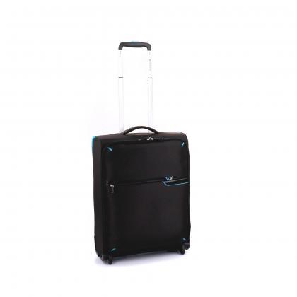 Roncato S-Light 2 Kerekes Fekete Kabinbőrönd