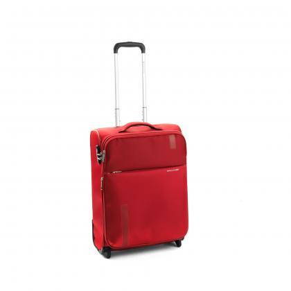 Roncato Speed 55 cm Piros Bővíthető Kabinbőrönd