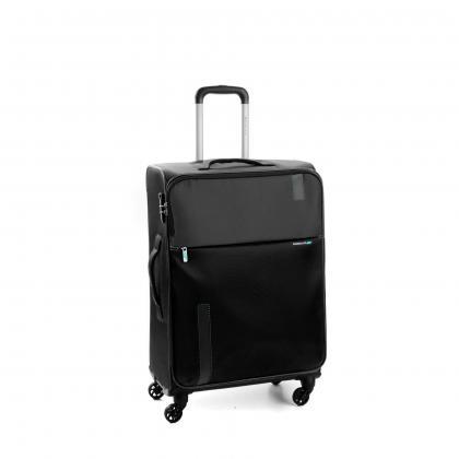 Roncato SPEED 67 cm bővithető Fekete Unisex Bőrönd