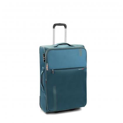 Roncato Speed 67 cm Sötét kék Bővithető Bőrönd
