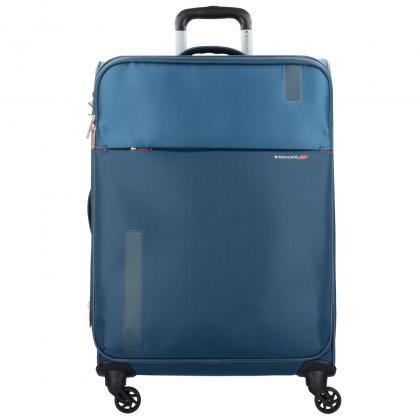 Roncato Speed 78 cm 4 kerék Sötét kék Unisex Bőrönd