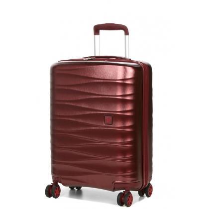 Roncato Stellar 64 cm Bordó Bővíthető Bőrönd