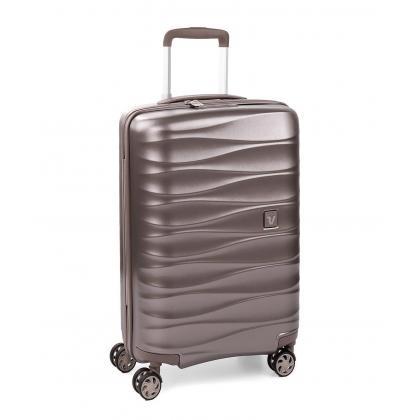 Roncato Stellar Pezsgő Bővíthető Közepes Bőrönd