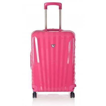 Roncato UNO SL M Rózsaszín Női Keményfedeles bőrönd
