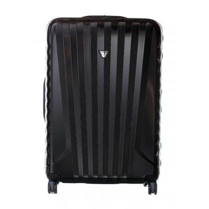 Roncato UNO L Fekete Unisex Bőrönd