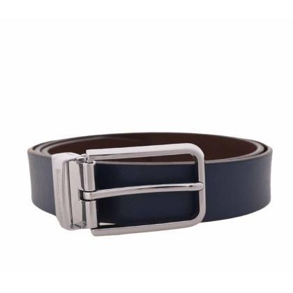Saxoo Anderson Belt Blue-Brown 105 cm Kék Férfi Öv