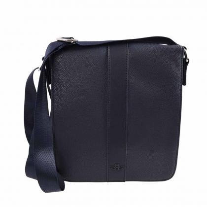Saxoo Doncaster Bag Navy Kék Férfi Oldaltáska