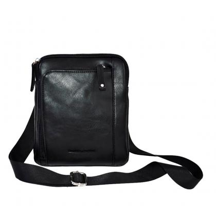 Saxoo Nebra Bag Black Fekete Férfi Oldaltáska