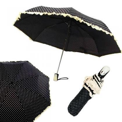 Smati Froufrou Fekete Autómata Esernyő