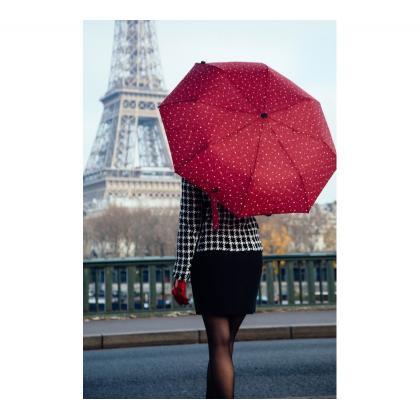 Smati Magritte Bordó Autómata Esernyő