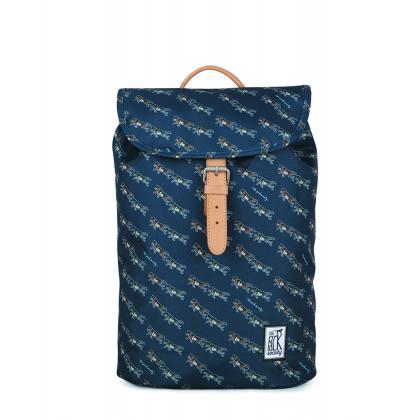 The Pack Society Small Backpack Dark Blue Wolf Allover Kék Unisex Hátizsák