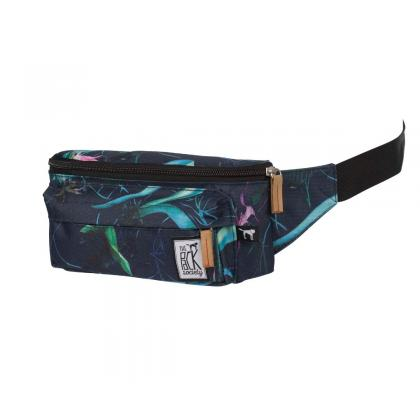 The Pack Society Bum Bag Dark Blue Jungle Allover  Sötét kék Unisex Övtáska