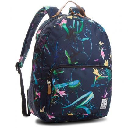The Pack Society Classic Backpack Dark Blue Jungle Allover Sötét kék Női  Hátizsák 0213ce102c