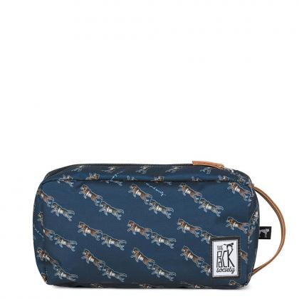 The Pack Society Multi Case Dark Blue Wolf Allover Kék Unisex Neszesszer