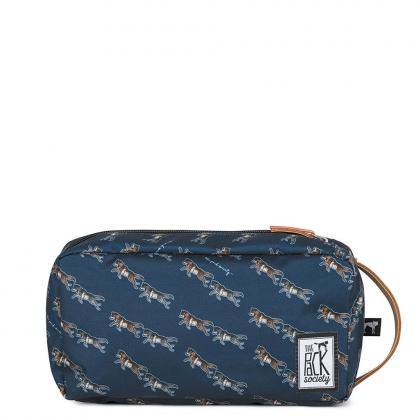 The Pack Society Multi Case Dark Blue Wolf Allover Kék Unisex Neszesszer