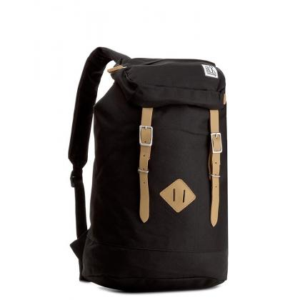 The Pack Society Premium Backpack Solid Black Fekete Hátizsák