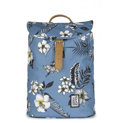The Pack Society Small Backpack Blue flower Világoskék Hátizsák