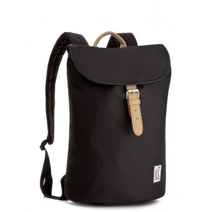The Pack Society Small Backpack Solid Black Fekete Hátizsák