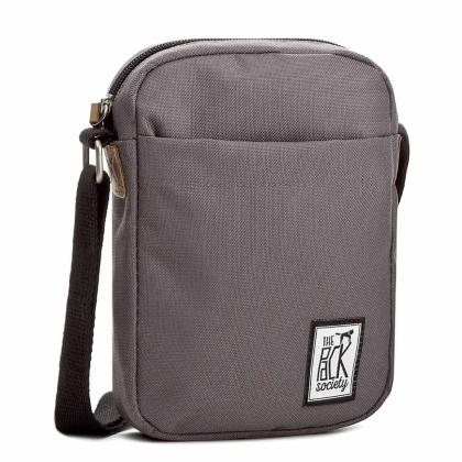 The Pack Society Small Shoulder Bag Solid Charcoal Szürke Unisex Oldaltáska