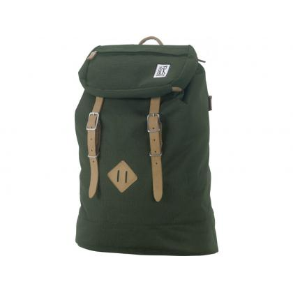 The Pack Society Premium Backpack Solid Forest Green Keki Unisex Hátizsák