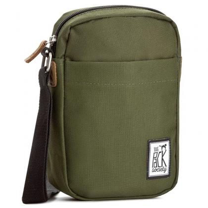 The Pack Society Small Shoulder Bag Solid Forest Green Keki Unisex Oldaltáska