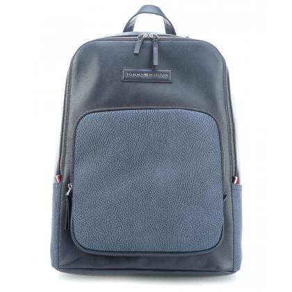 Tommy Hilfiger Corporate Mix Backpack Sötét kék Férfi Hátizsák