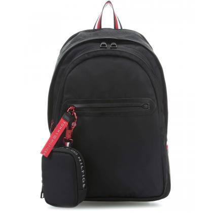 Tommy Hilfiger Explorer Backpack Fekete Férfi Hátizsák