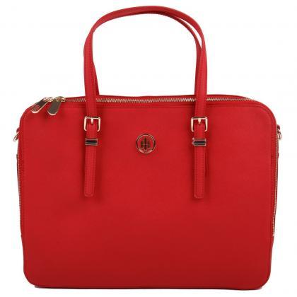 Tommy Hilfiger Honey Computer Bag Piros Női Laptop Táska