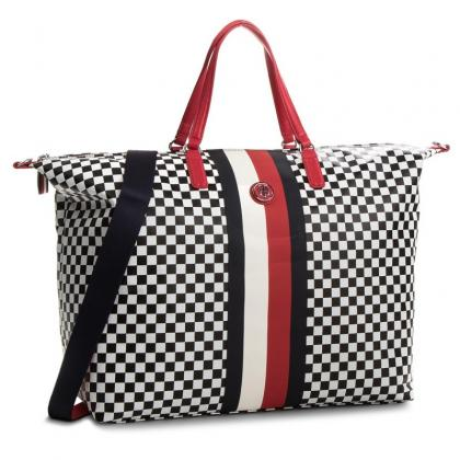 Tommy Hilfiger Poppy Weekender Checker board kockás Multicolor Női Utazótáska