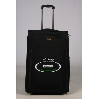 Touareg 6450 L Fekete Unisex Puhafedeles bőrönd