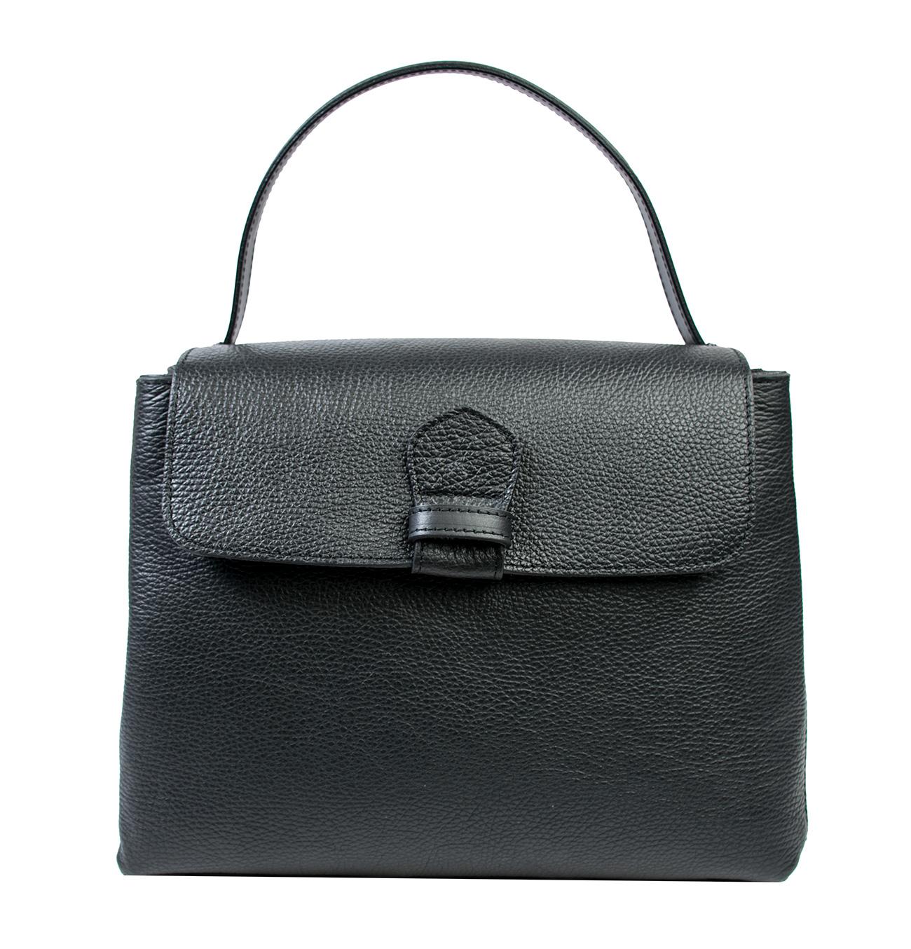 Bags and more Acele Fekete Női Bőr Kézitáska
