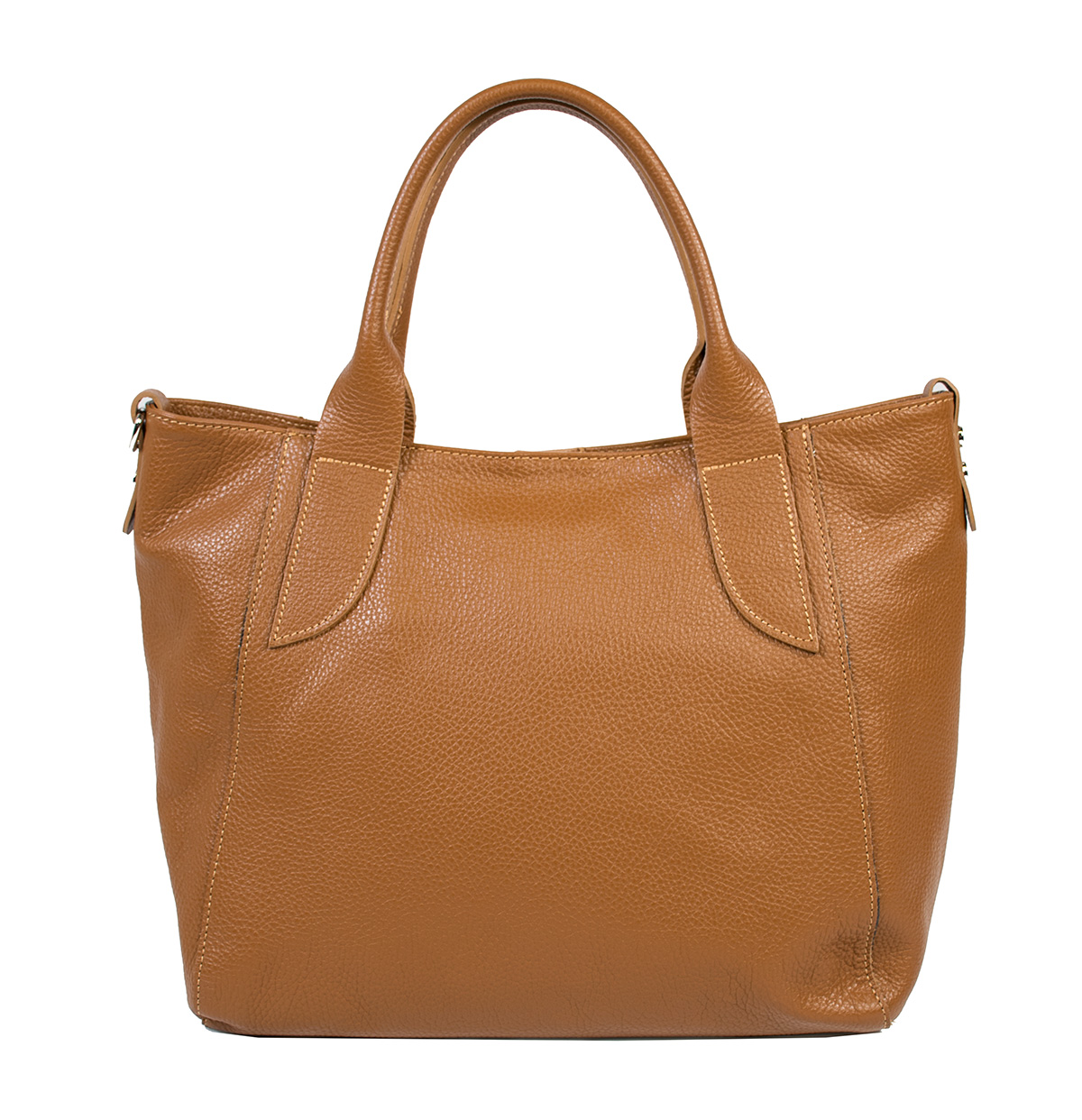Bags and more Cameo Világos barna Női Bőr Kézitáska