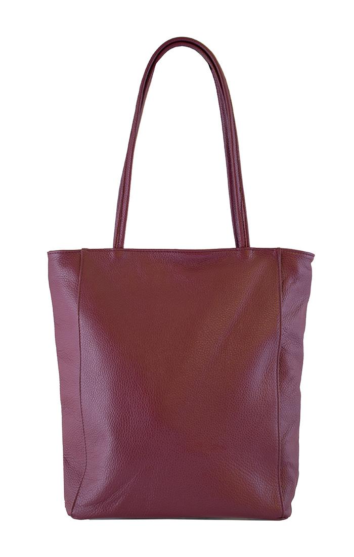 Bags and more Concetta Burgundi Női Válltáska