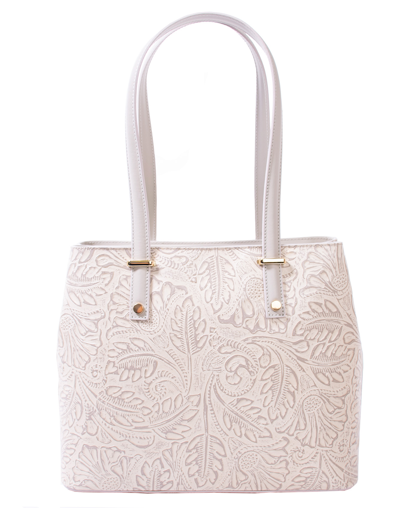 Bags and more Donnylyn Bézs Női Bőr Válltáska