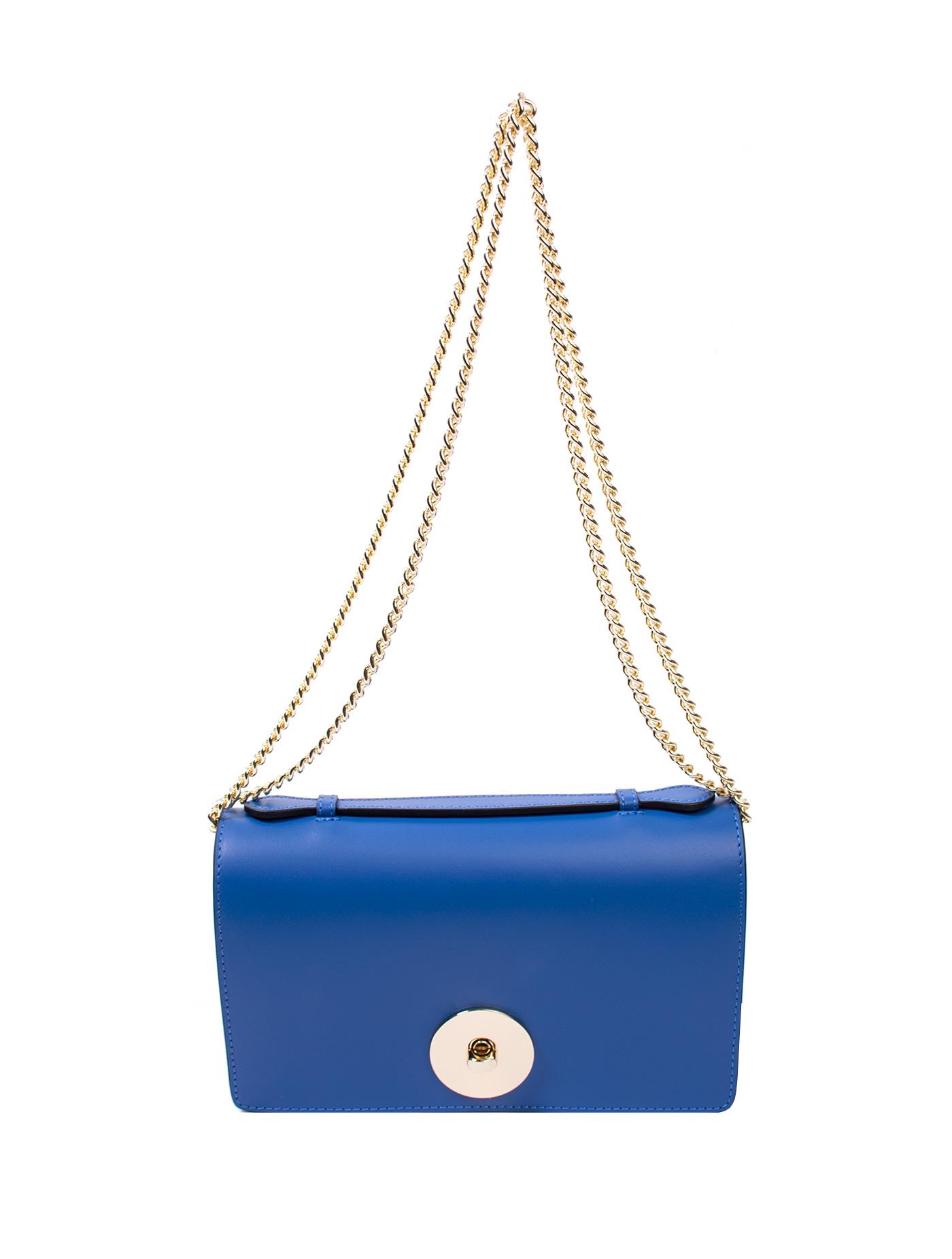 Bags and more Florenza Király Kék Női Bőr Oldaltáska