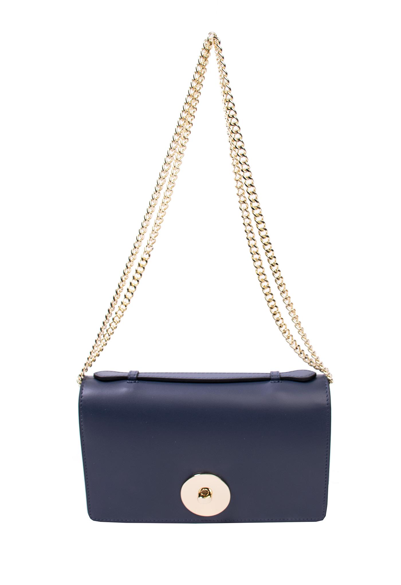 8f5875d8ef0d Bags and more Florenza Sötét kék Női Bőr Oldaltáska | bagsnmore.hu