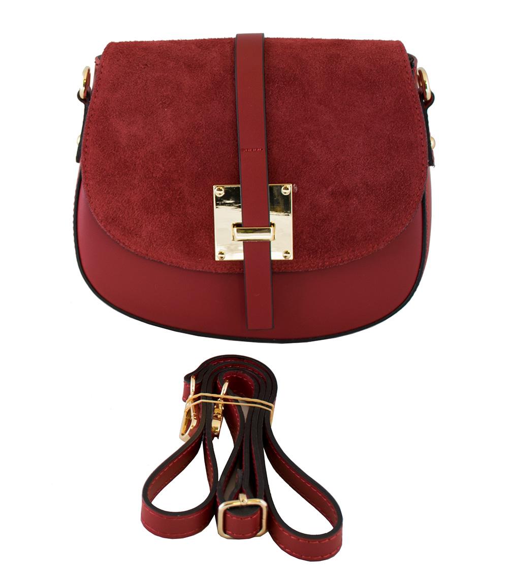 Bags and more Lucilla Piros Női Oldaltáska