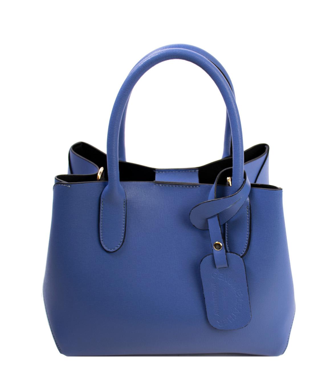 Bags and more Mariella Kék Női Bőr Kézitáska