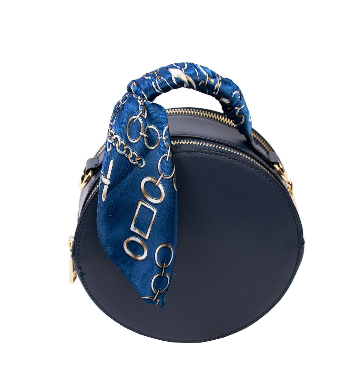 Bags and more Matilda Sötét kék Női Bőr Kézitáska