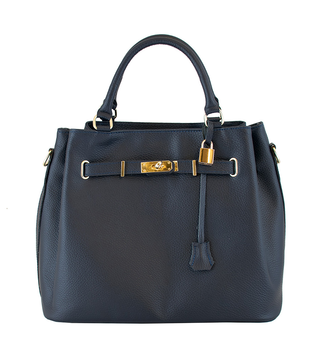 Bags and more Monalisa Kék Női Bőr Kézitáska