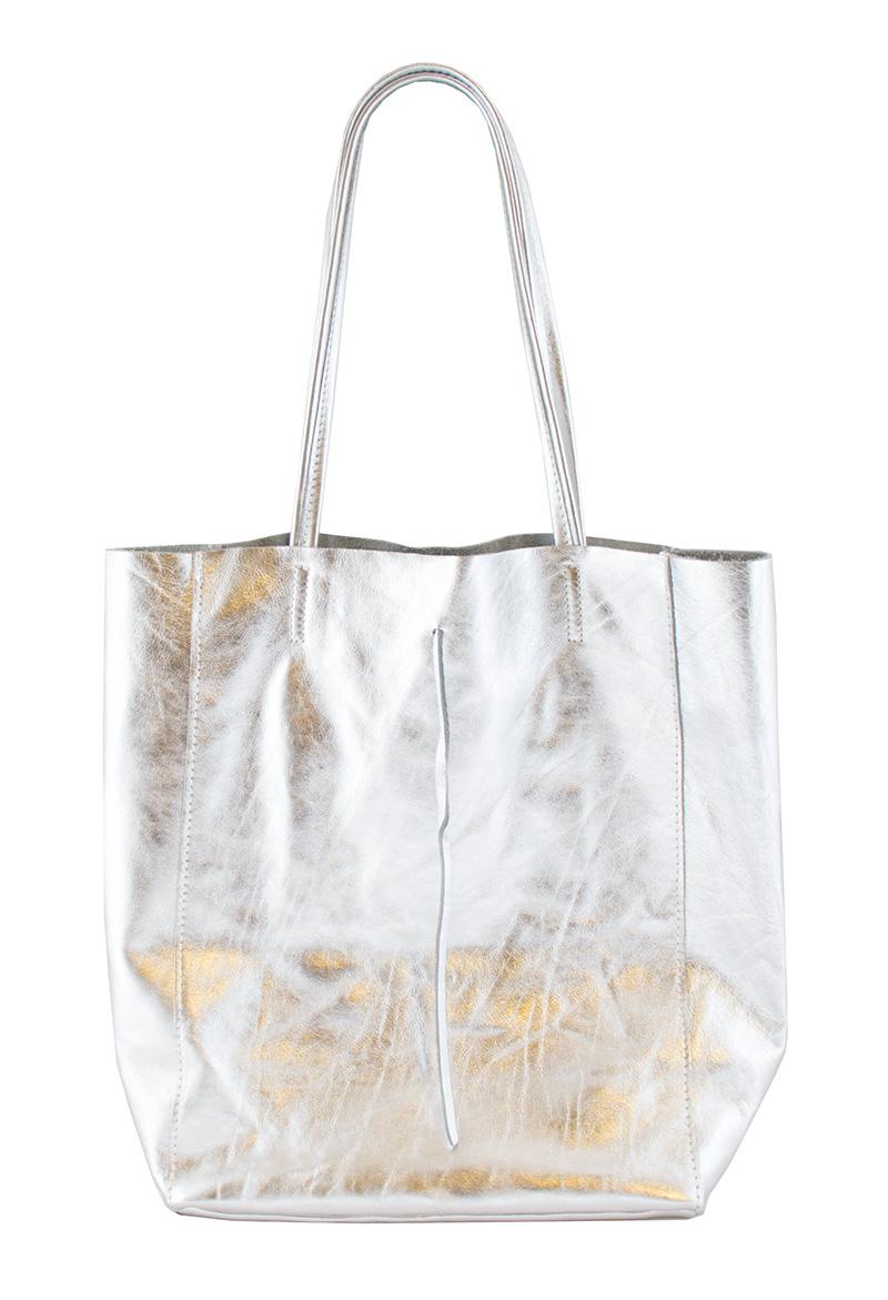 Bags and more Sophia Ezüst Női Válltáska