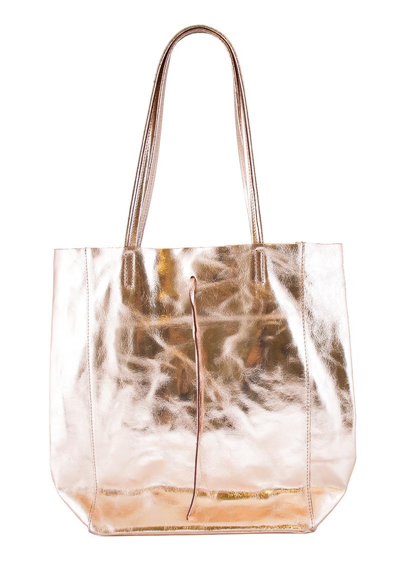 Bags and more Sophia Rosegold Női Válltáska
