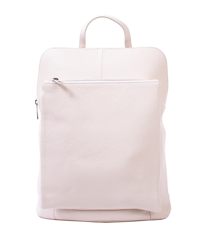 Bags and more Vectra Bézs Női Bőr Hátizsák