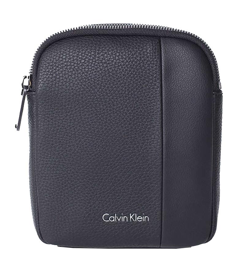 fb8041c8a3 Calvin Klein Alist4ir Mini Flat Crossover Fekete Férfi Válltáska