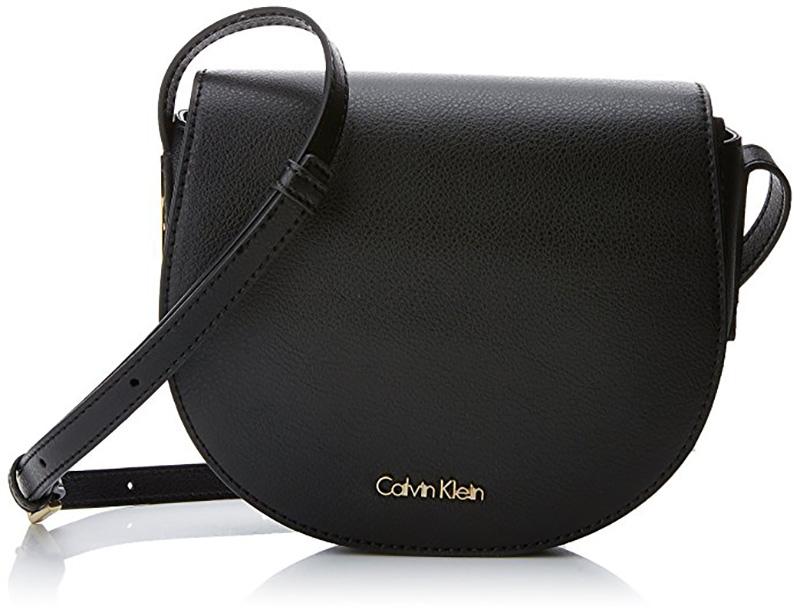 Calvin Klein Frame Saddle Bag Fekete Női Oldaltáska d98c0d0d7b